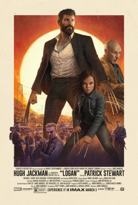 logan poster imax