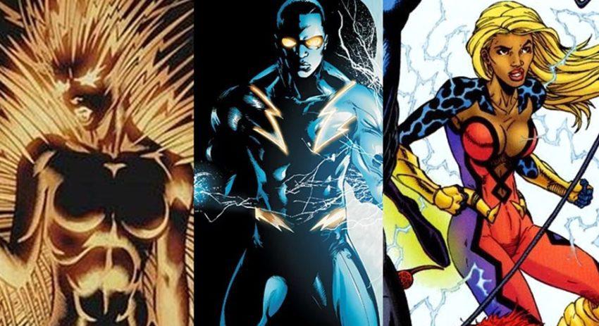 black lightning comics