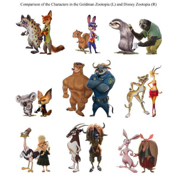 [Zootropolis] La Disney accusata di plagio dallo sceneggiatore Gary L. Goldman