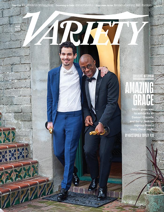 Damien Chazelle e Barry Jenkins condividono la copertina da Oscar di Variety