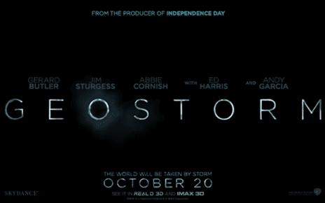 geostorm film banner