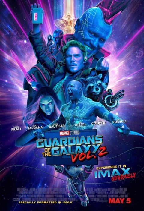 guardiani della galassia 2 poster imax
