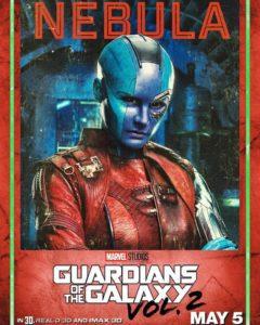 guardiani galassia 2 nebula