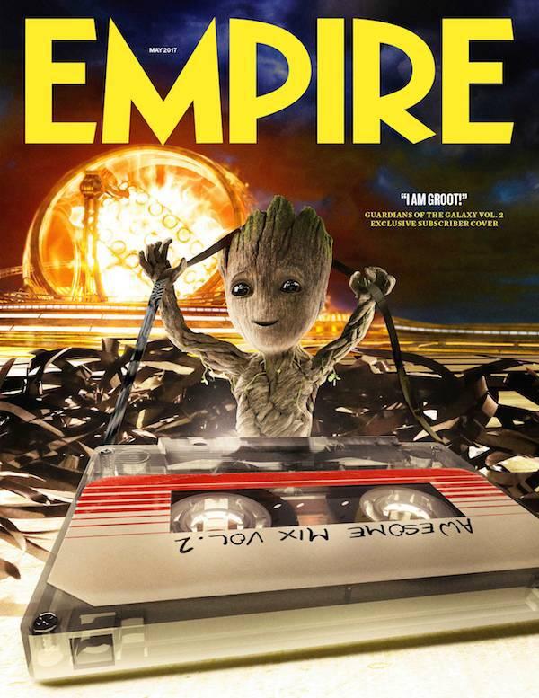 baby groot empire magazine