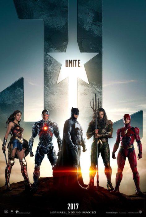 justice league poster unite