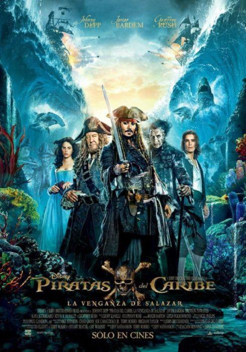 pirati dei caraibi 5 poster