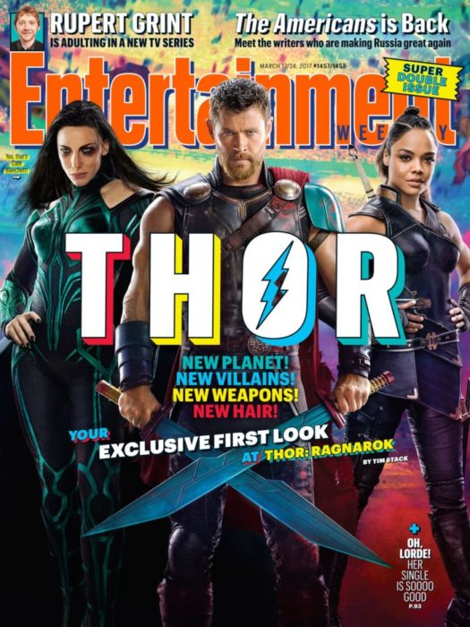 thor ragnarok entertainment weekly
