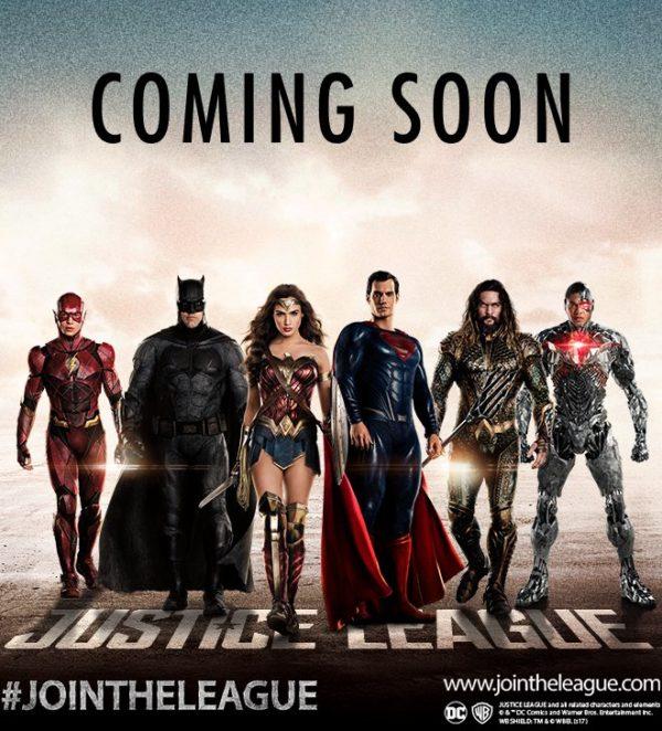 nuova immagine di justice league con superman