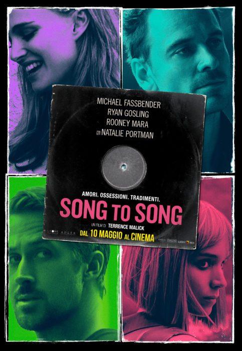 Dopo il trailer, ecco il poster italiano di Song to Song di Terrence Malick