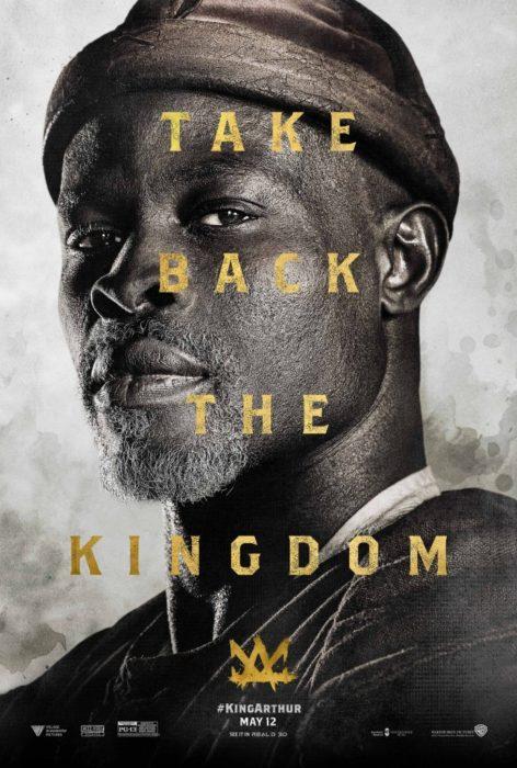 king arthur poster djimon hounsou
