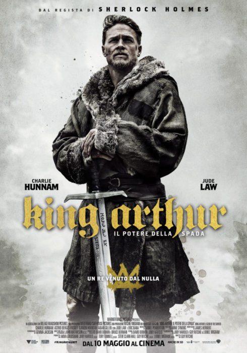 king arthur potere della spada nuovo poster italiano