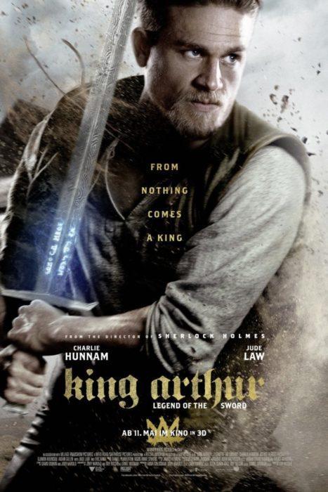 king arthur film poster charlie hunnam