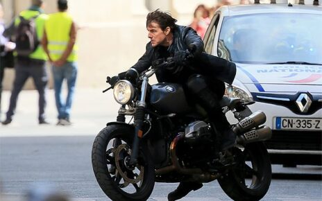 mission impossible 6 set tom cruise in moto