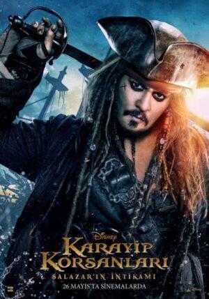 Pirati dei caraibi 5 poster internazionali