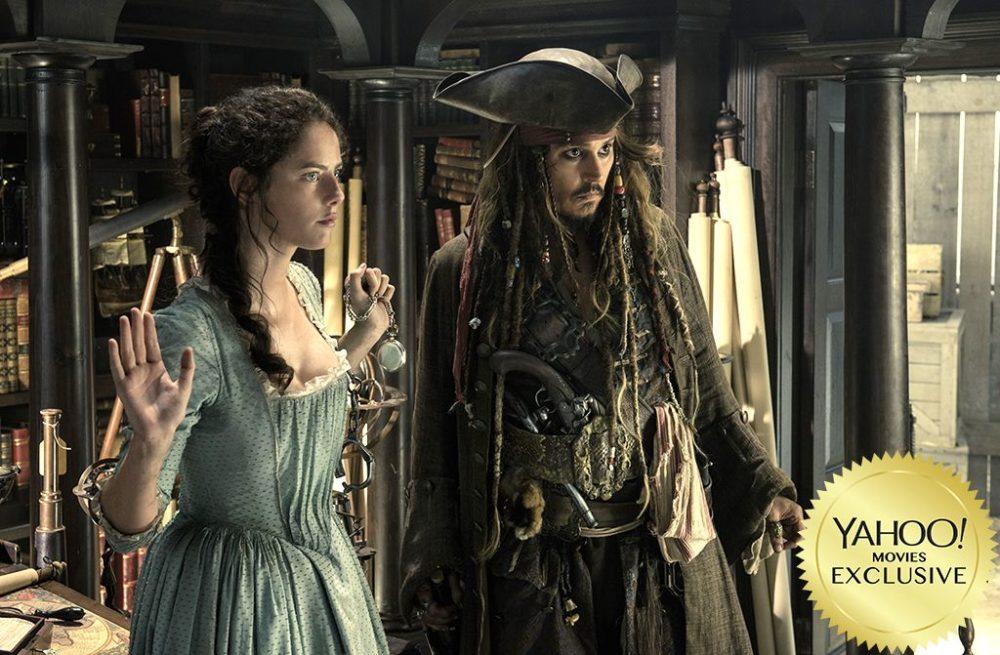 pirati dei caraibi 5 johnny depp foto