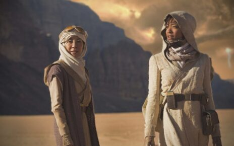star trek discovery foto set