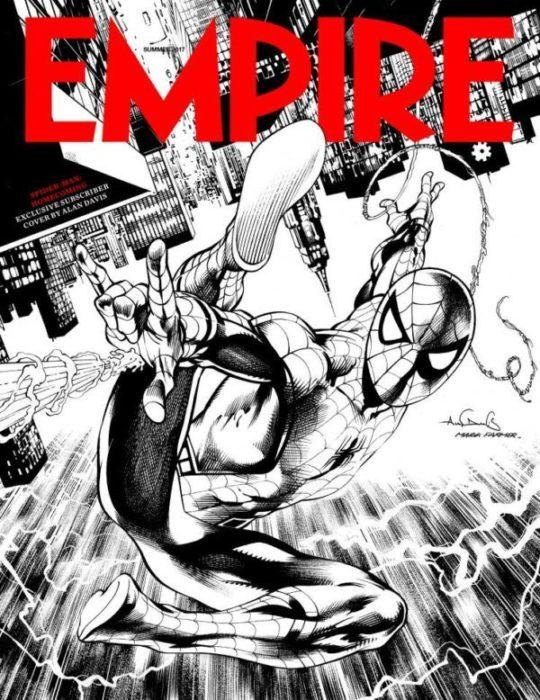 empire magazine spider-man homecoming