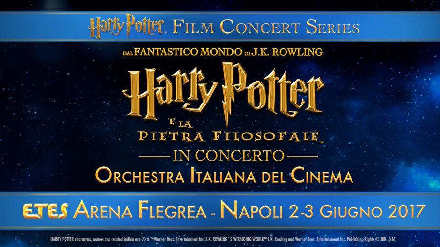 Sbarca a Napoli l'evento Harry Potter e la Pietra Filosofale in Concerto