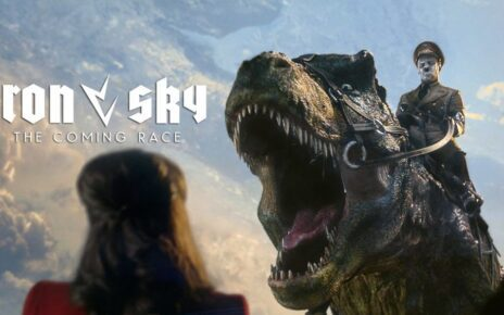 Nazisti, dinosauri e mutaforma rettiliani nel pazzo teaser trailer di Iron Sky 2