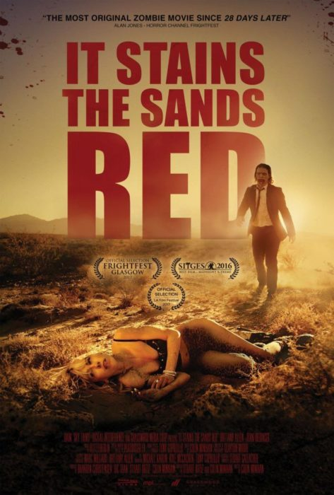 it stains the sands red poster e trailer