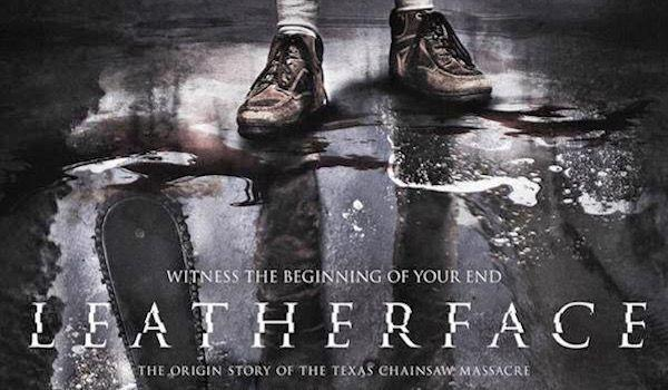 leatherface film banner