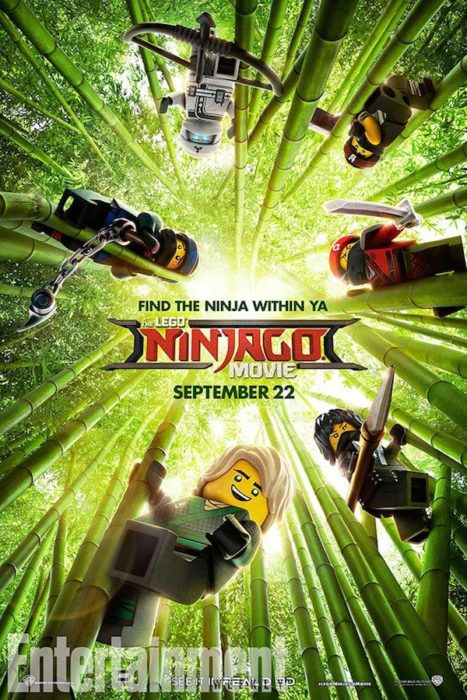 lego ninjago film poster ew