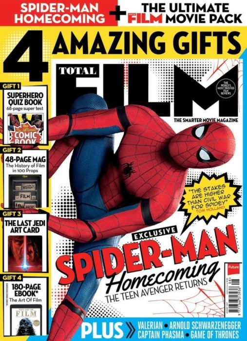 total film magazine spider-man homecoming