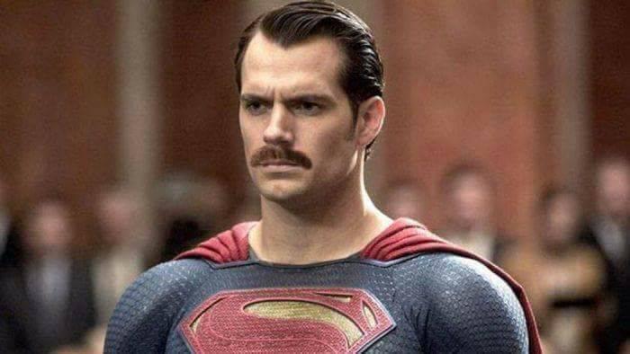 superman baffi