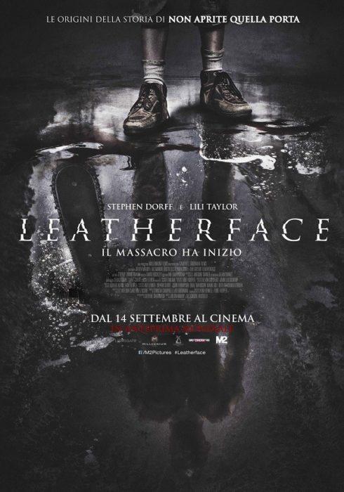 leatherface poster ita