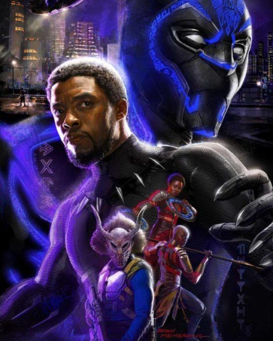 black panther artwork sdcc