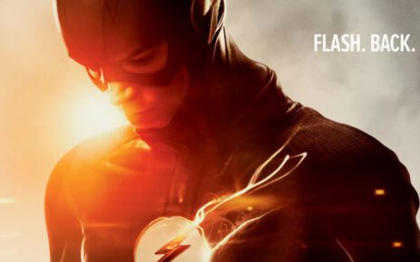 the flash copertina