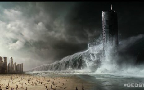 Un terrificante tzunami nel nuovo poster italiano di Geostorm