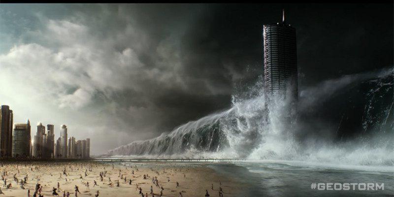 L'apocalisse si avvicina nel nuovo poster italiano di Geostorm