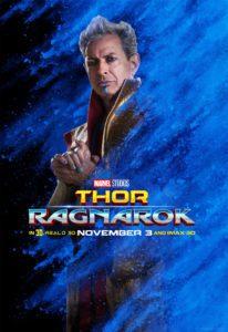 thor ragnarok poster personaggi