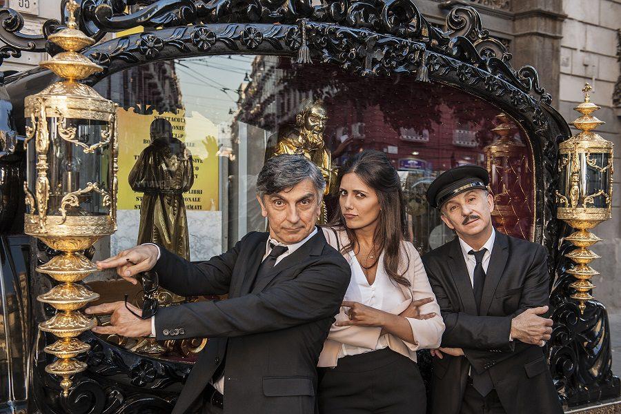 Ecco il poster ufficiale di Caccia al Tesoro, la nuova commedia di Carlo Vanzina
