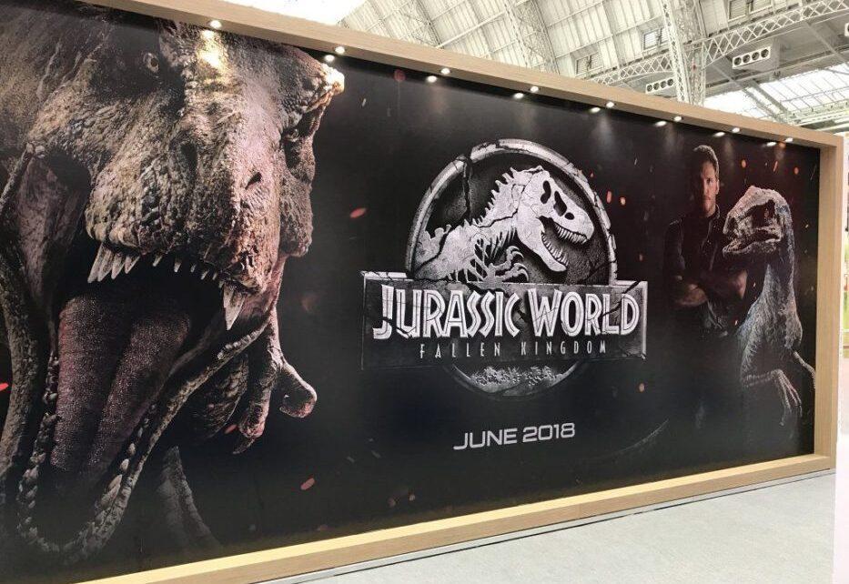 Poster e banner di The Predator e Jurassic World 2 dal Brand Licensing Europe