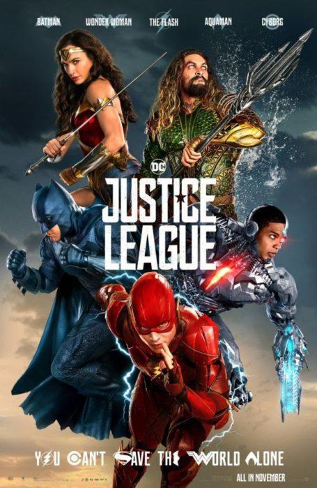 [Justice League] Supereroi schierati nel nuovo poster ufficiale