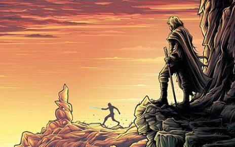 star wars gli ultimi jedi poster imax