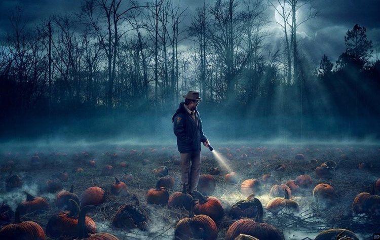 stranger things halloween slide