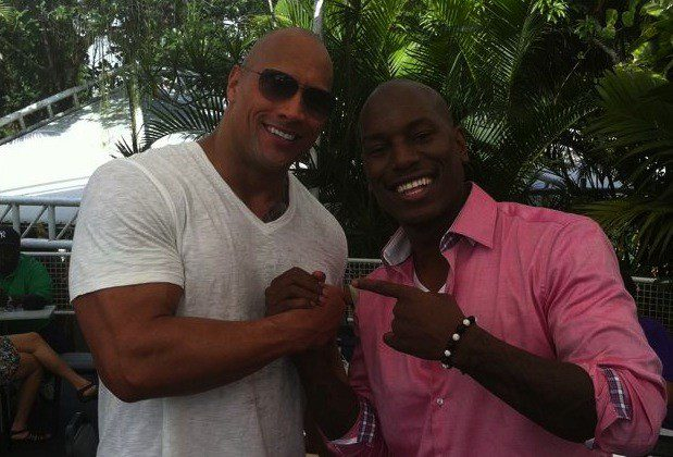 [Fast and Furious] Pace fatta tra Tyrese Gibson e Dwayne Johnson?