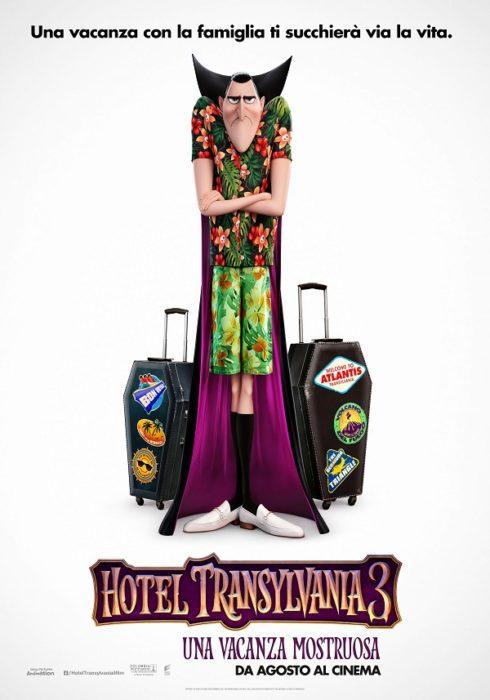 hotel transylvania 3 poster italiano