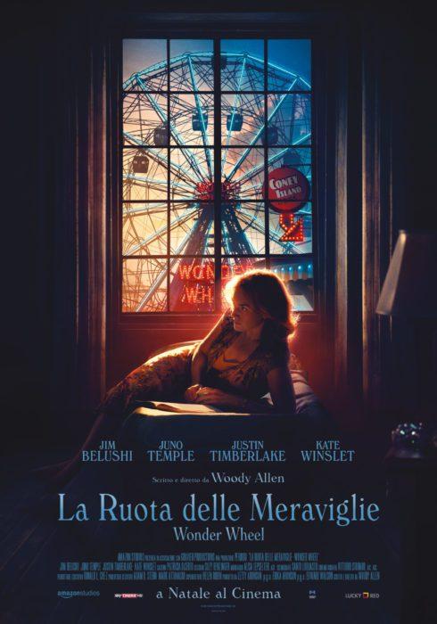Trailer e poster italiani di La Ruota delle Meraviglie, il nuovo film di Woody Allen