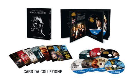 C'era una volta Sergio Leone, dal 13 dicembre un cofanetto con i 7 film del regista