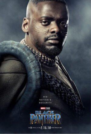 [Black Panther] I characters poster dedicati ai membri del Regno di Wakanda