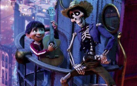 Foto di gruppo con morti nel nuovo poster di Coco, il cartoon Pixar
