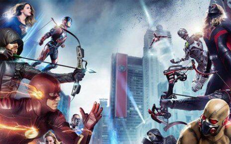 Arrowverse - Eroi e villain a confronto nel banner del crossover Crisis on Earth-X