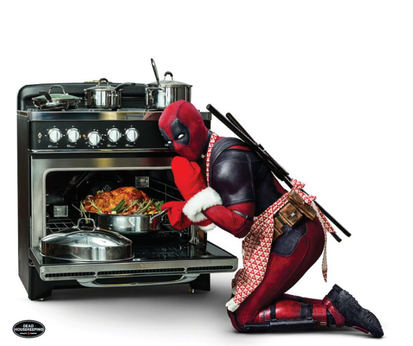 [Deadpool 2] Il Merc intento a cucinare un tacchino in una nuova foto
