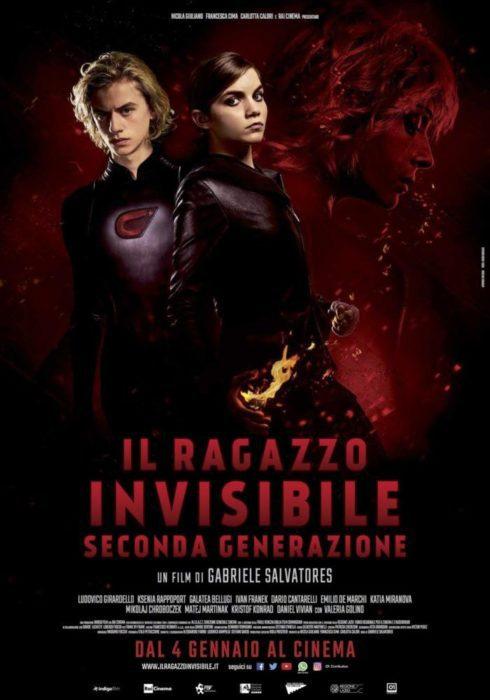 il ragazzo invisibile seconda generazione poster
