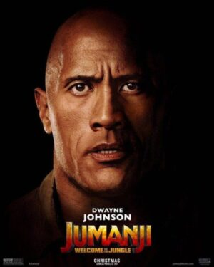 Jumanji poster Dwayne Johnson