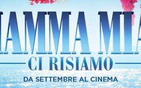 Svelato il titolo italiano di Mamma Mia! Here we go Again